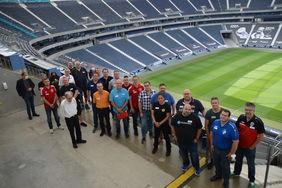 Im Rahmen des Vereinsmanager-kongresses wartete auf die Teilnehmer ein spannender Tag bei Eintracht Frankfurt. [Foto: Andreas Kattenberg]