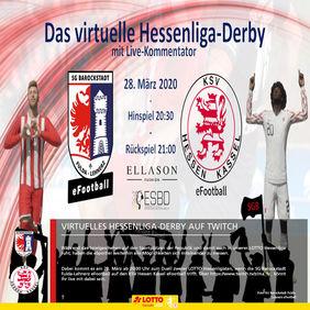 Kann sich die SGB für die 2:3-Niederlage in der LOTTO Hessenliga gegen den KSV zumindest virtuell revanchieren? [Foto: SG Barockstadt Fulda-Lehnerz eFootball]