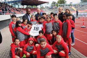 """Im vergangenen Jahr war """"Cacau"""" als DFB-Integrationsbeauftragter zu Gast im Rahmen von Sport und Wort. Foto: KSV Hessen Kassel"""