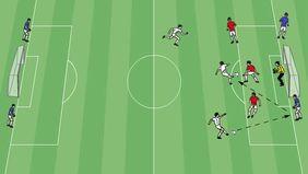 Ganz einfach eigene Trainingsgrafiken erstellen mit dem kostenlosen Grafik-Tool auf FUSSBALL.DE. Foto: DFB