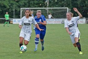 Neuauflage des Hessenpokal-Finales von 2018 bei den Frauen: TSV Jahn Calden - Eintracht Frankfurt [Foto: HFV]