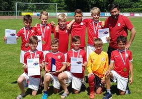 Die Siegermannschaft des KSV Hessen Kassel. Foto: HFV