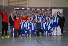Die MSG Bad Vilbel qualifizierte sich für den DFB-Futsal-Cup. Foto: Volker Fitzner