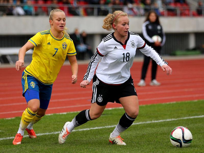 Kassel: U 20-Frauen verlieren Test gegen Schweden   hfv