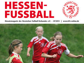 Juli-Ausgabe des HESSEN-FUSSBALL