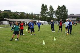 Qualifizierung ist beim Hessischen Fußball-Verband hoch angesiedelt und die Nachfrage groß. Foto: Sebastian Fink