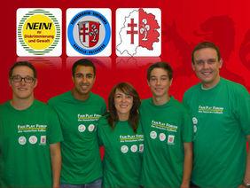BfÖ Andreas Börner, Senouci Allam, Manuela Schubert, Tobias Lecke und KLW Karsten Vollmar (von links)