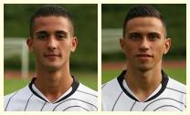 Alban Lekaj und Juan Gomez (siehe Fotos) trafen für die Hessenauswahl. Cem Kara steuerte den dritten Treffer bei - Foto: Eintracht Frankfurt